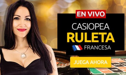 Ruleta en vivo francesa Merkurmagic