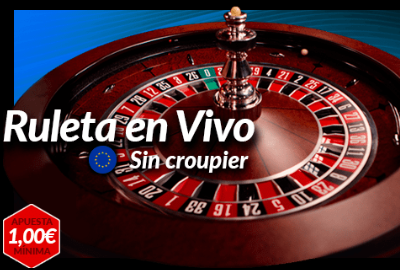 Ruleta en vivo sin crupier europea