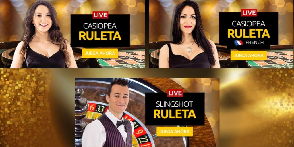 ruleta en vivo merkur magic